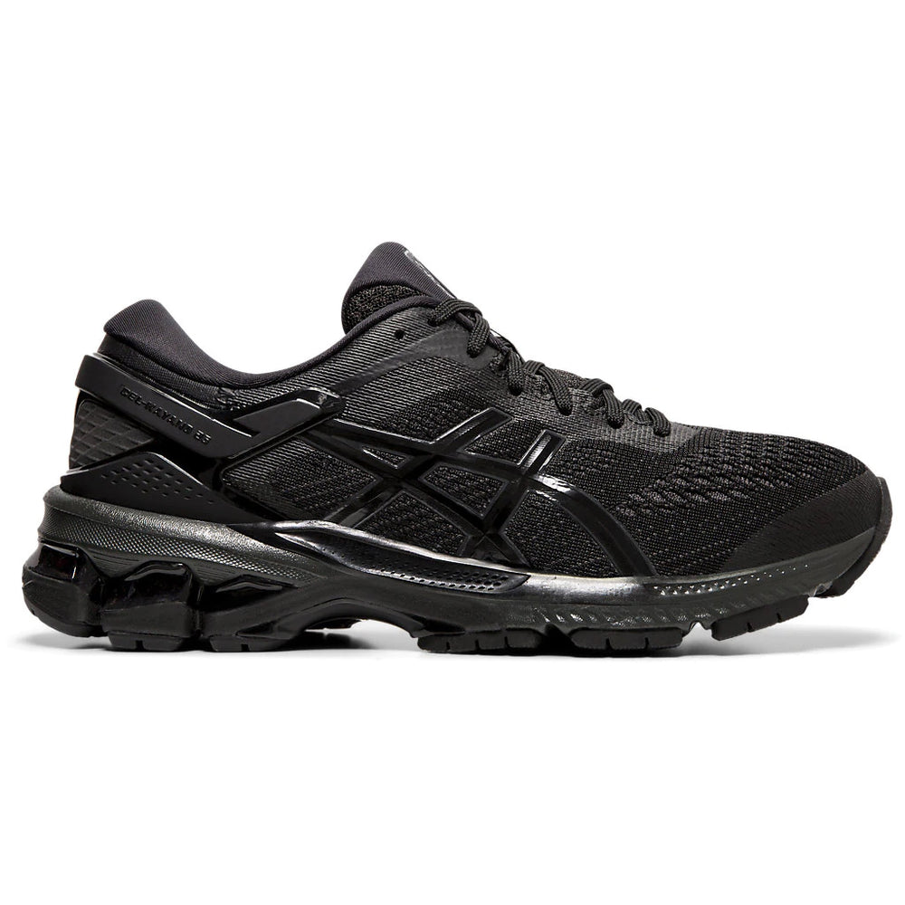 Asics Women's Gel-Kayano 26 Running Shoes Black / Black - achilles heel