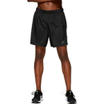 Asics Men's Icon Short Performance Black - achilles heel