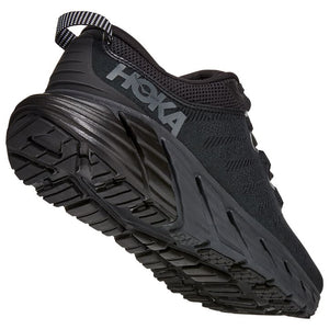 Hoka Men's Gaviota 3 Running Shoes Black / Black - achilles heel