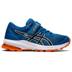 Asics Kids GT 1000 10 PS Running Shoes Reborn Blue / Black - achilles heel