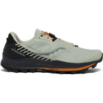 Saucony Men's Peregrine 11 ST Trail Running Shoes Tide / Black - achilles heel