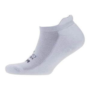 Balega Hidden Comfort Running Socks White - achilles heel