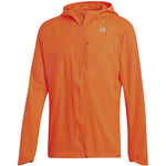 Adidas Men's Own The Run Reflective Jacket Orange - achilles heel
