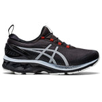 Asics Women's Gel-Kayano 27 AWL Running Shoes Graphite Grey / Pure Silver - achilles heel