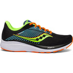 Saucony Men's Guide 14 Running Shoes Future Black - achilles heel