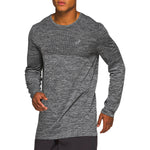 Asics Men's Race Seamless Top Performance Black - achilles heel