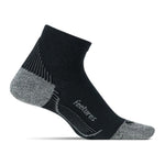 Feetures PF Relief Quarter Socks Black - achilles heel