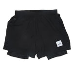 SAYSKY 2 In 1 Shorts Black - achilles heel