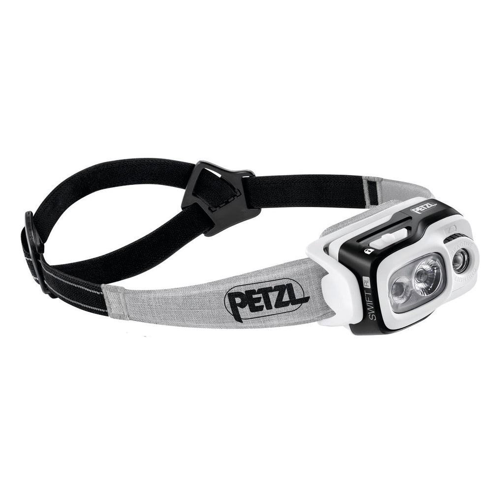 Petzl Swift RL Head Torch Black - achilles heel