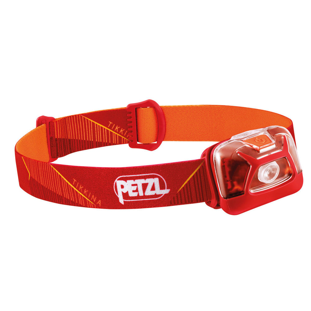 Petzl Tikkina Head Torch Red - achilles heel