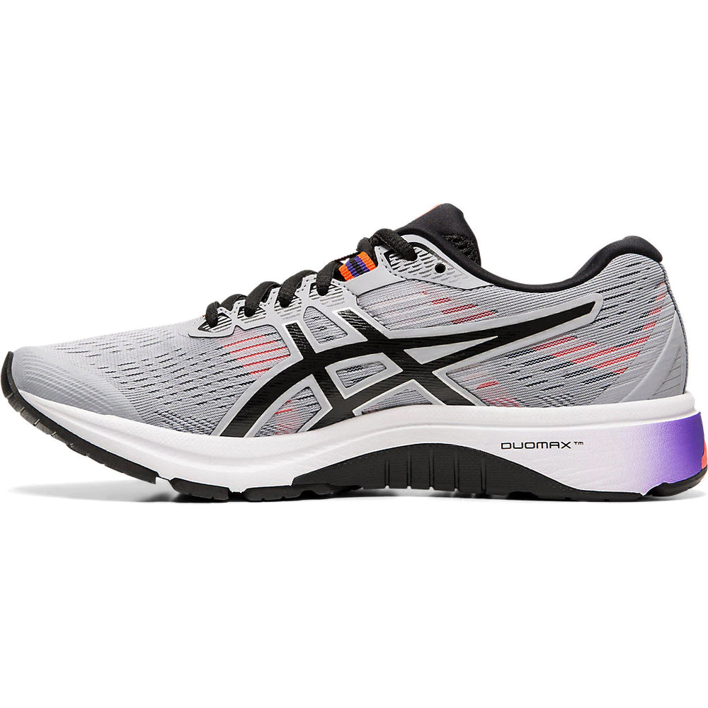 Asics Women's GT 1000 8 Running Shoes Piedmont Grey / Black - achilles heel