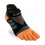 Injinji Women's Ultra Run No-Show Socks Tide - achilles heel