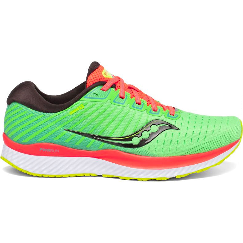 Saucony Women's Guide 13 Running Shoes Green Mutant - achilles heel
