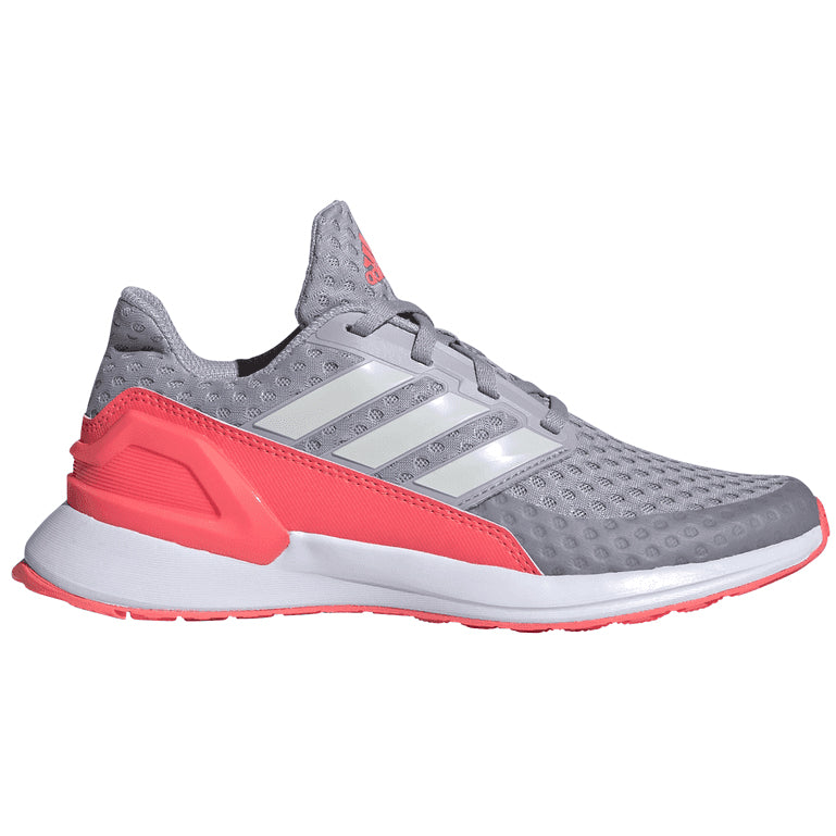 adidas Kids Rapida Run J Running Shoes Grey / Pink - achilles heel