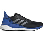 adidas Men's Solar Glide ST 19 Running Shoes Black / Grey / Blue