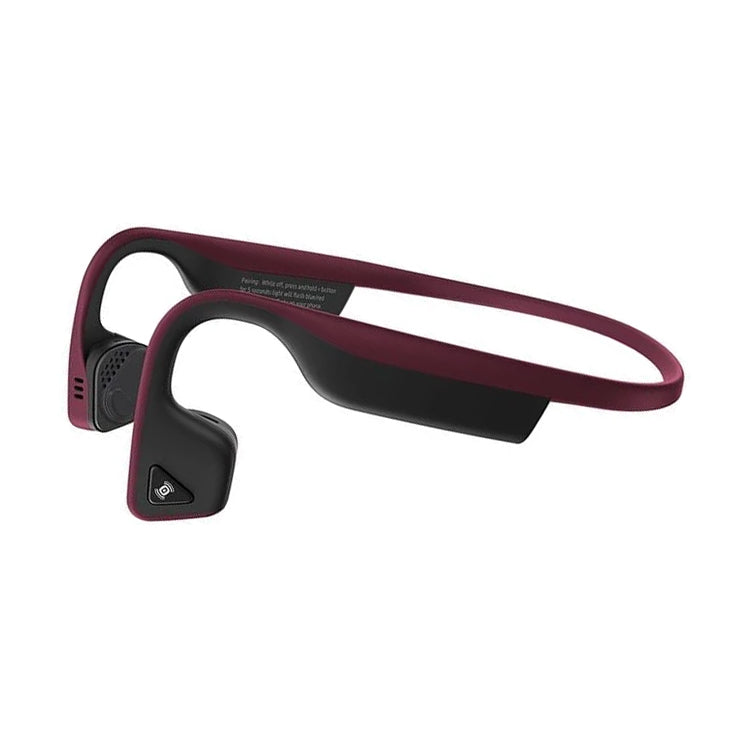 Aftershokz Titanium Headphones Canyon Red - achilles heel