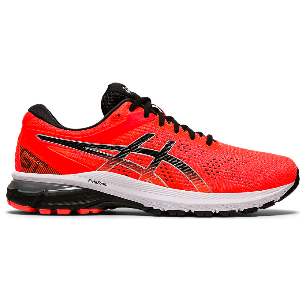 Asics Men's GT-2000 8 Running Shoes Sunrise Red / Black - achilles heel
