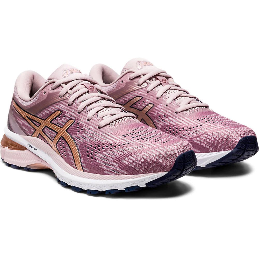 Asics Women's GT-2000 8 Running Shoes Watershed Rose / Rose Gold - achilles heel