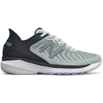 New Balance Women's 860v11 Running Shoes Camden Fog / Black - achilles heel