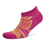 Balega Ultra Light No Show Running Socks Electric Pink / Tangerine - achilles heel