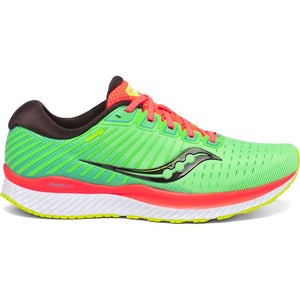 Saucony Men's Guide 13 Running Shoes Green Mutant - achilles heel