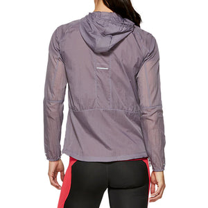 Asics Women's Packable Jacket Lavender Grey FA19