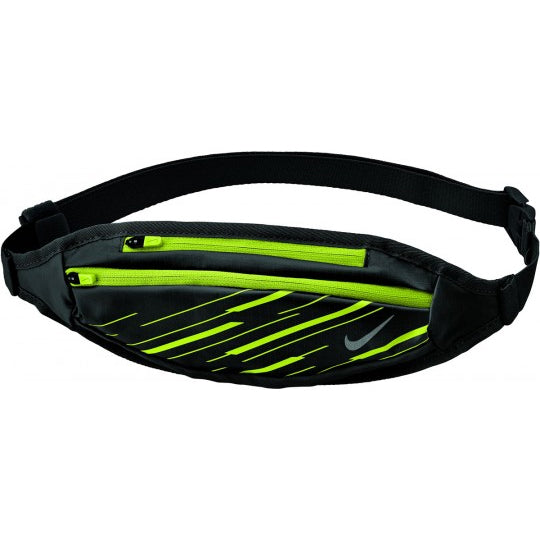 Nike Small Capacity Waistpack Black / Volt / Silver - achilles heel