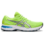 Asics Men's GT-2000 9 Running Shoes Hazard Green / Pure Silver - achilles heel