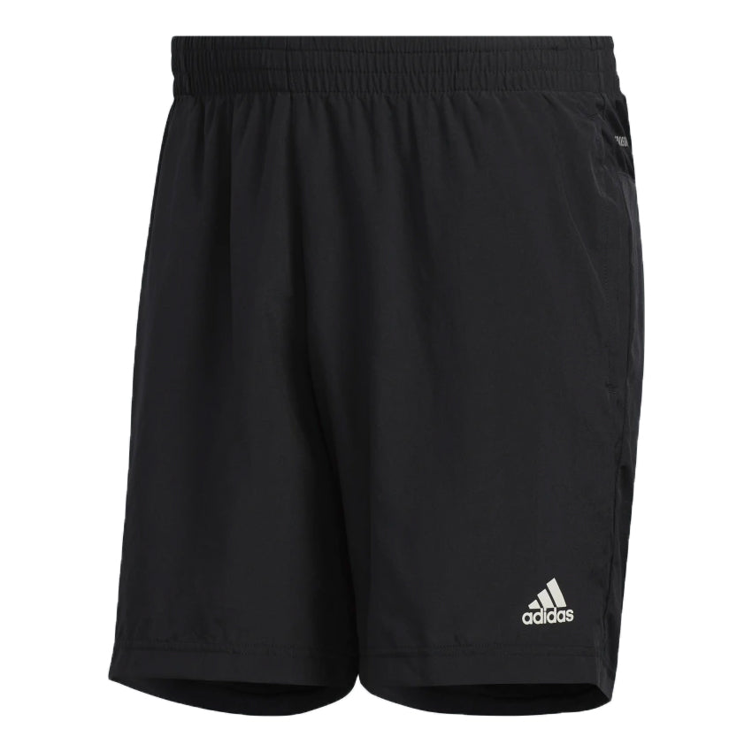 Adidas Men's Run It PB 7 Inch Short Black - achilles heel