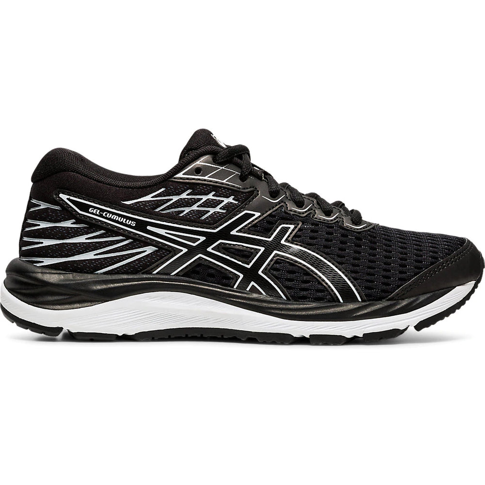 Asics Kids Gel  Cumulus 21 GS  Running Shoes Black / Black - achilles heel