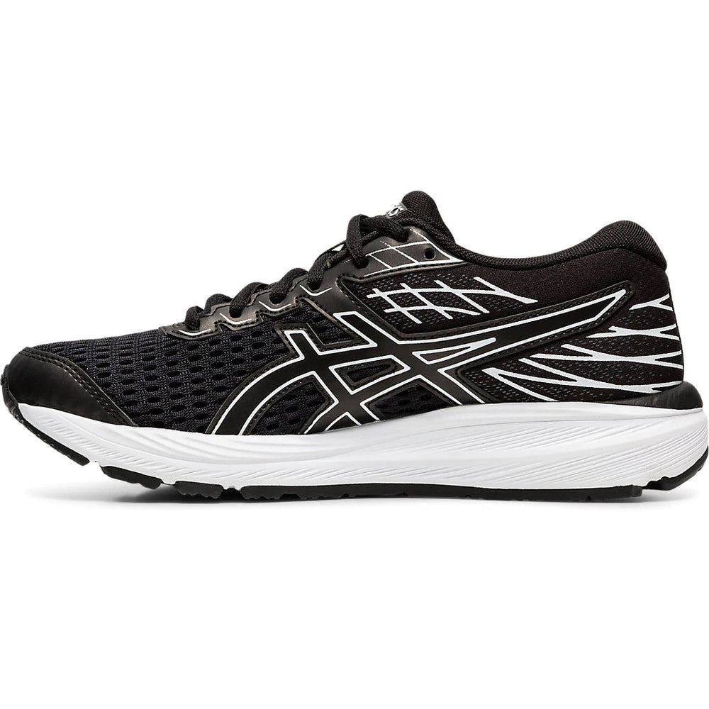 Asics Kids Cumulus 21 Running Shoes Black / Black - achilles heel