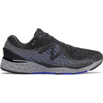 New Balance Men's 880GX10 Wide Fit GORE-TEX Running Shoes Silver Black / Thunder / Blue - achilles heel