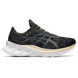 Asics Women's Novablast Edo Era Pack Running Shoes Black / Graphite Grey - achilles heel
