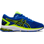 Asics Kids GT 1000 9 GS Running Shoes Tuna Blue / Black - achilles heel