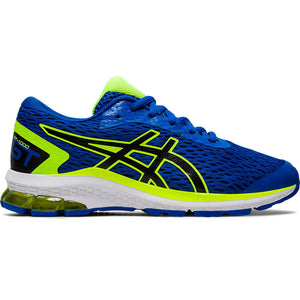 Asics Kids GT 1000 9 Running Shoes Tuna Blue / Black - achilles heel