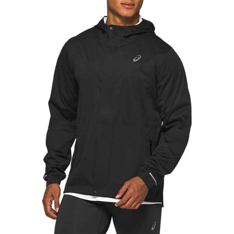 Asics Men's Accelerate Jacket Performance Black - achilles heel