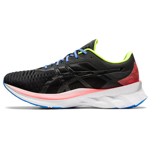 Asics Men's Novablast Running Shoes Black / Black - achilles heel