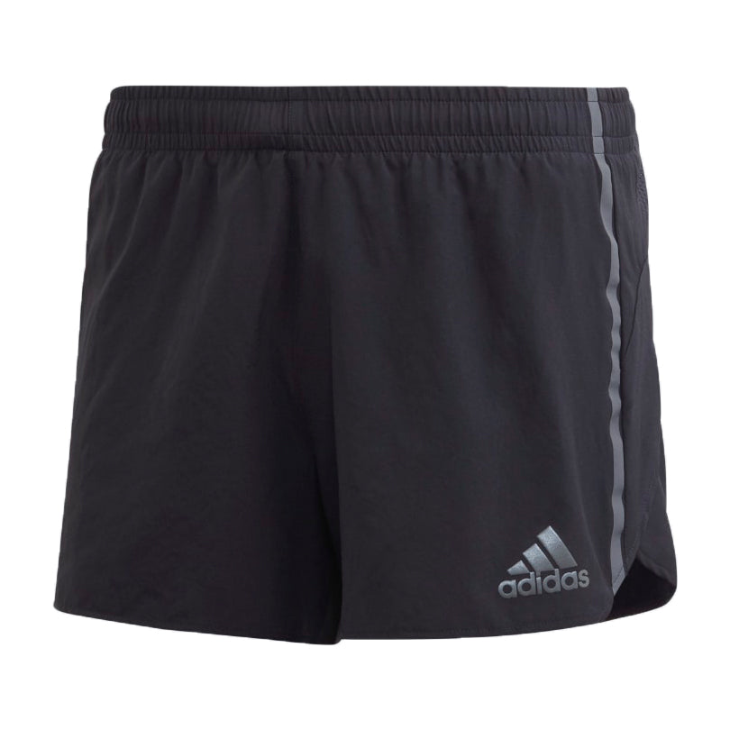 Adidas Men's Saturday Split Short Black / Grey - achilles heel