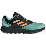 adidas Men's Terrex Two Flow Trail Running Shoes Acid Mint / Hazy Orange / Screaming Pink - achilles heel