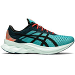 Asics Men's Novablast SPS Running Shoes Techno Cyan / Black
