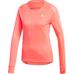 Adidas Women's Own The Run Top Signal Pink