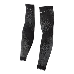 Nike Breaking 2 Speed Running Sleeves Black / Silver - achilles heel