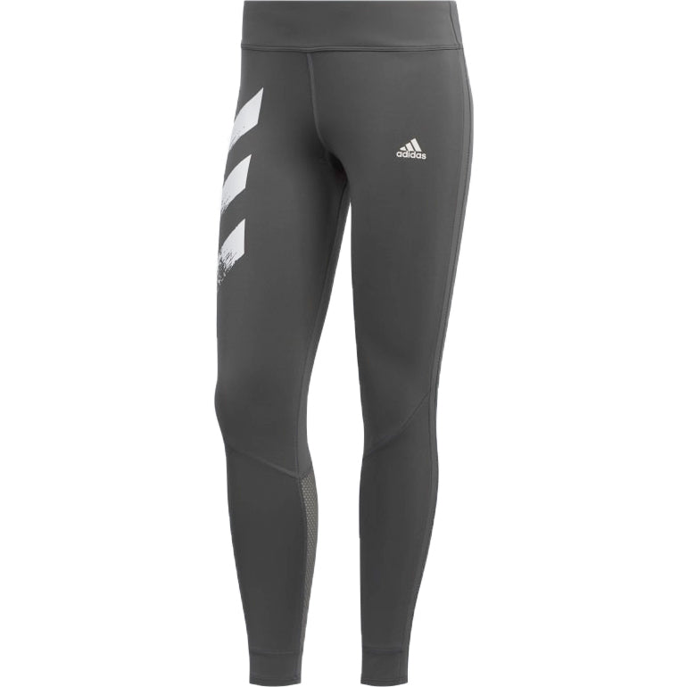 Adidas Women's Own The Run 7/8 Tight Grey - achilles heel
