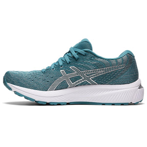Asics Women's Gel-Cumulus 22 Running Shoes Smoke Blue / White - achilles heel