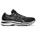 Asics Men's GT-2000 9 Running Shoes Black / White - achilles heel