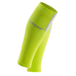 CEP Men's Compression Calf Sleeves 3.0 Lime / Grey