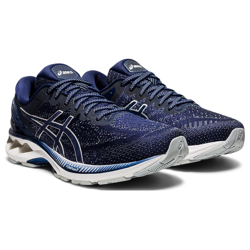 Asics Men's Gel-Kayano 27 Running Shoes Peacoat / Piedmont Grey - achilles heel