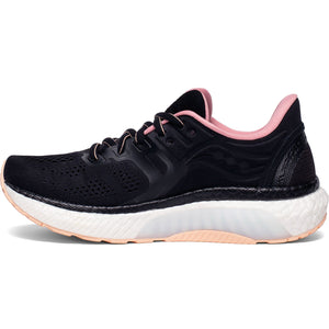 Saucony Women's Hurricane 23 Running Shoes Black / Rosewater - achilles heel