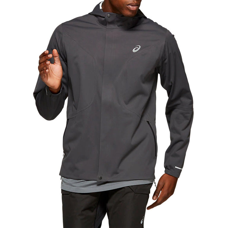 Asics Men's Accelerate Jacket Graphite Grey