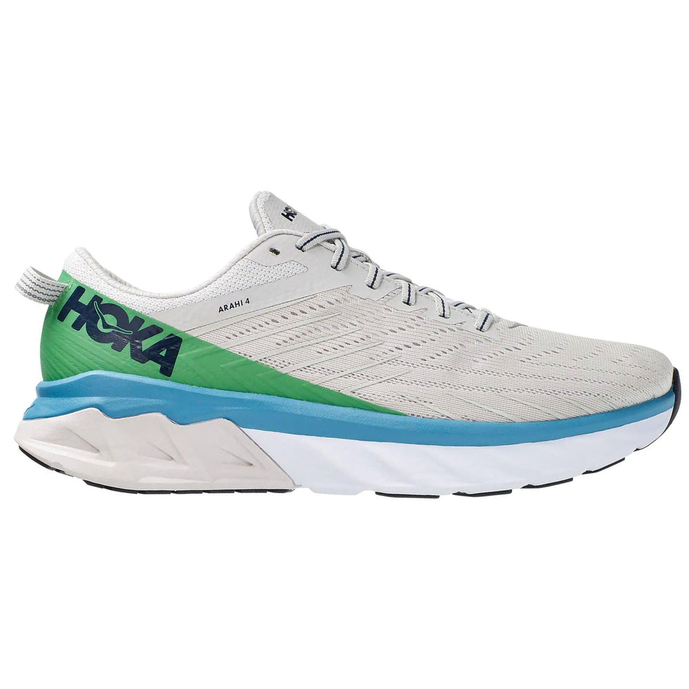 Hoka Men's Arahi 4 Running Shoes Lunar Rock / Nimbus Cloud - achilles heel